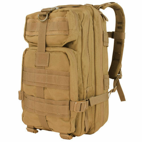 CONDOR 126-003 22L Rucksack Outdoor Army MOLLE Compact Assault Backpack Coyote