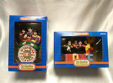 The Beatles Christmas Ornaments Yellow Submarine Sargent Peppers Set of 2