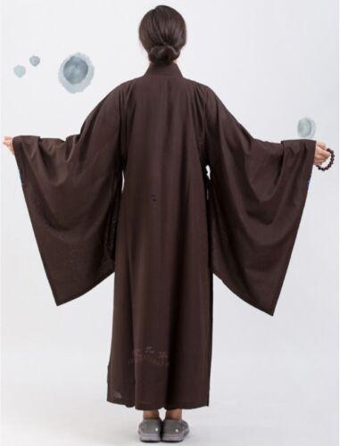 Zen Meditation Kesa Monk Dress Buddhist Priest Cassock Robe Shaolin Kung fu