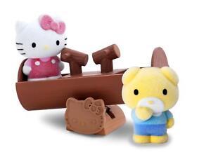 NEW-Blue-Box-Sanrio-Hello-Kitty-amp-Jody-See-Saw-Playground-Scene-Playset