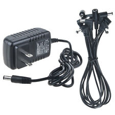 ChromaCast 5 Plug Daisy Chain Cable for Effects Pedals /& 9V AC Power Adapter CC-DC5-KIT