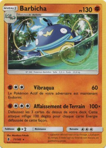 SL2-71//145 Rare Barbicha X1 Pokemon VF Français