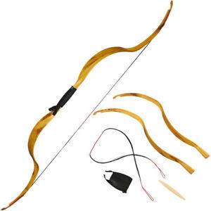 Tir à L'arc 25 lb (environ 11.34 kg) Takedown traditionnel Recourbé Arc Mongol Horsebow cible Chasse