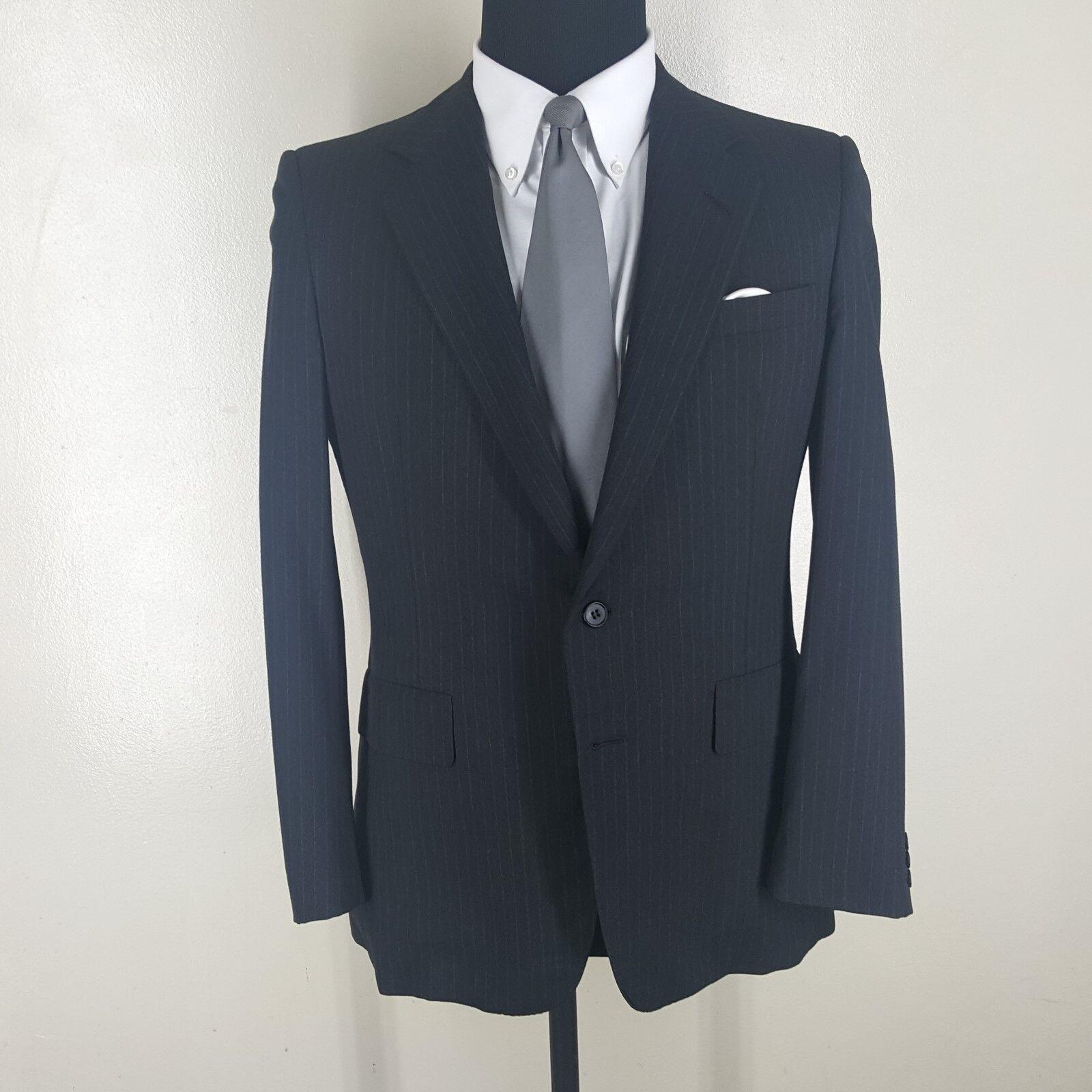 CHESTER BARRIE Vintage Wool Sport Coat  Made In U.K. 2 Btn Side Vents  40 Short