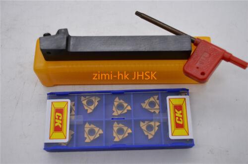 """SER1212H16 Lathe Threading Turning Tool Holder 16ER 3//8/"""" AG60 16ERAG60 10pcs"""