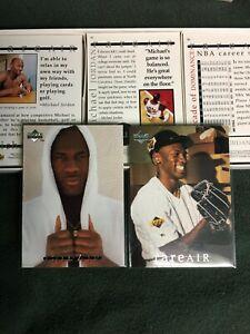 1994 U. D. Rare Air 90 card Gold Editionset, Michael Jordan ( only 1 per Case )