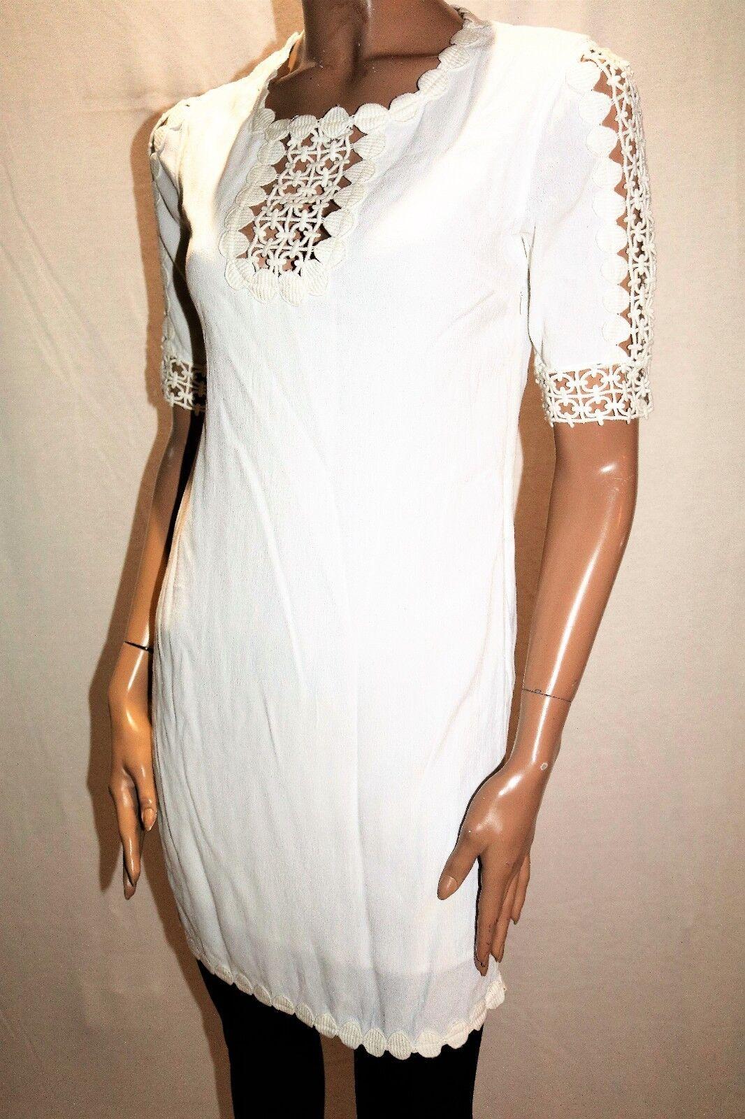 PICNIC Brand White Lace Piper Dress Size XS BNWT  HG14
