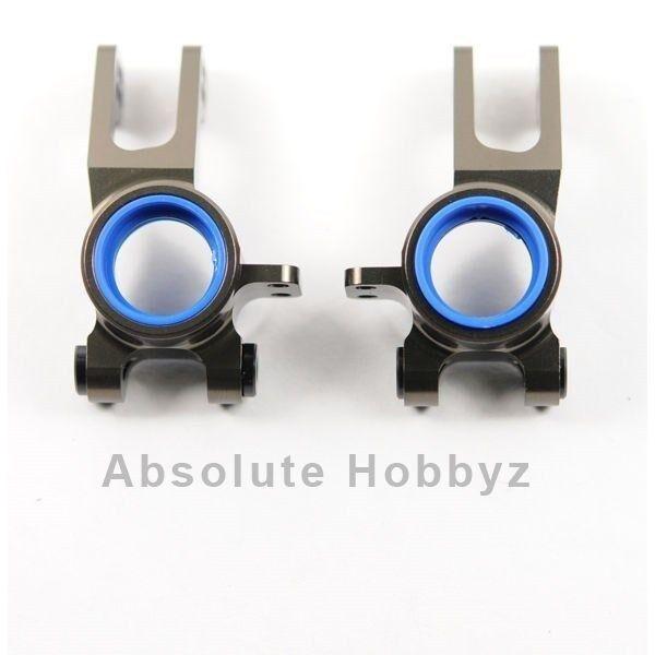 Kyosho 2mm Offset Aluminum Rear Rear Rear Hub Carrier Set f9dc56