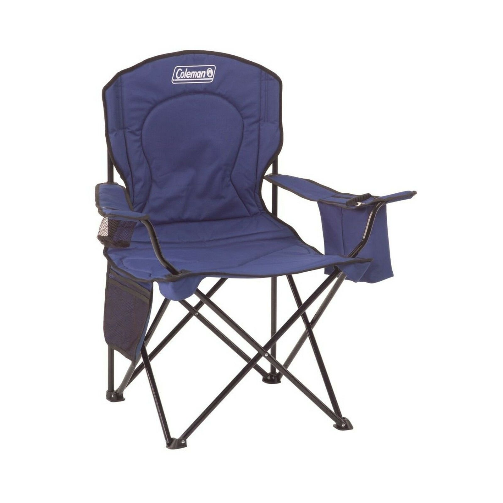 Coleman Oversized  Quad Chair with Cooler bluee Free Shipping  fast delivery and free shipping on all orders