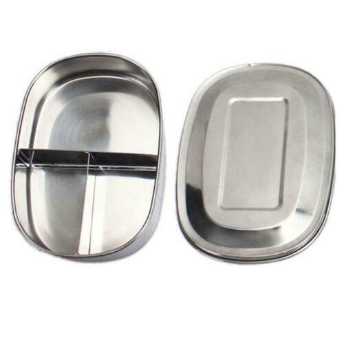 Tragbarer Bento Lunchbox-Behälter aus Edelstahl Auslaufsicherer Food-Koffer