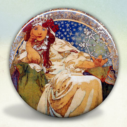 Alphonse Mucha/'s Princess Hyacinth Pocket Mirror