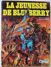 La Jeunesse de Blueberry T1 GIRAUD & CHARLIER éd Dargaud 1975
