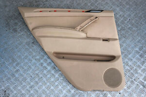BMW X5 Series E53 Rear Left N/S Door Card Trim Panel Leather Beige