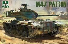 Takom 1:35 M47/G Patton US Medium Tank Plastic Model Kit #2070