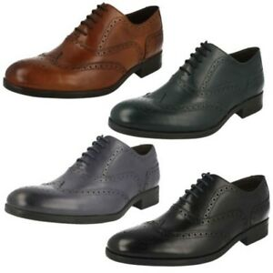 Hombre-Clarks-Formal-Zapatos-Oxford-039-Banfield-Limite-039