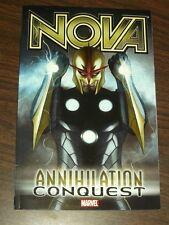 Nova Annihilation Conquest Vol 1 Marvel Comics (Paperback)< 9780785126317