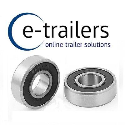 Sealed Bearings 115MM PCD To Fit Daxara//Erde 2 x Cast Wheel Hub