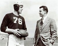 Original Photo Yale Football coach Howard Odell & captain Endicott Cotty Davison