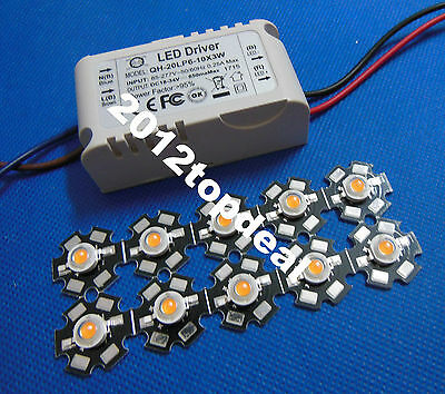 3W full spectrum 400nm~840nm led grow lights with 6-10x3W led driver for plant