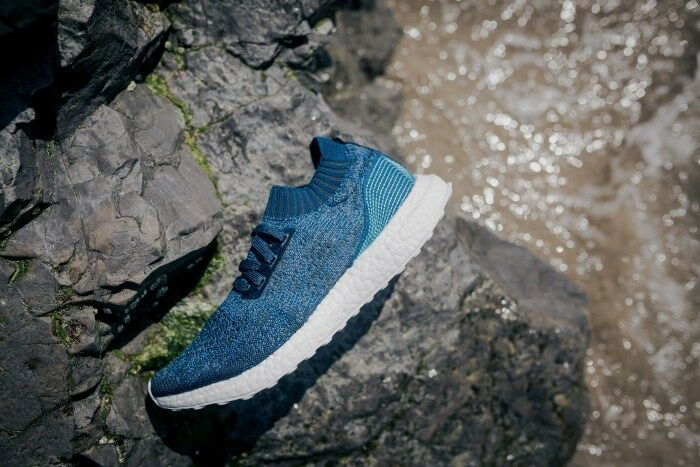 Hombres Adidas ultra Boost uncaged x Parley Azul by3057 SZ 10 DS NMD
