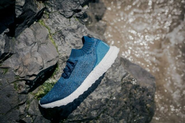 384555decbba2 adidas Ultraboost Uncaged Parley Blue Navy Men s By3057 Ultra Boost ...