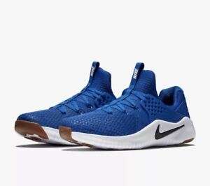 00ab617a9ce4 Nike Free TR V8 Men s Running Training Shoes Blue White AH9395 401 ...