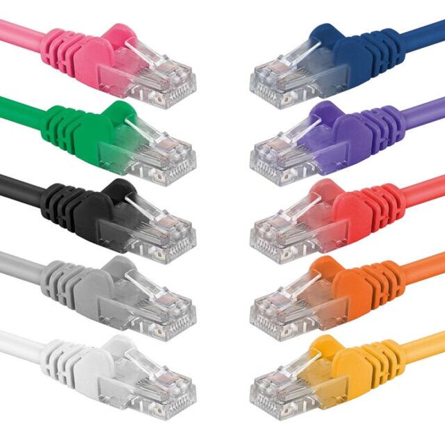Cat 6 Ethernet réseau RJ45 S/FTP Câble LAN PC Routeur Patch plomb 100% cuivre
