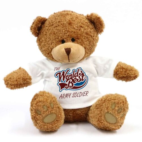 The Worlds Best Army Soldier Teddy Bear