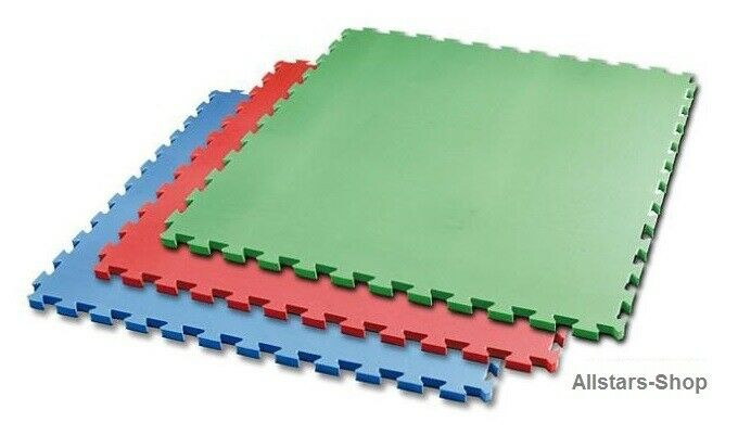 Bänfer Gym Mat rot Vario-Step Play Mat Puzzle Mat Connector System 14 MM