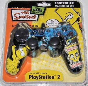 b8d22043865 Sony PlayStation 2- Bart Simpson Controller ~NEW~   the Simpsons ...