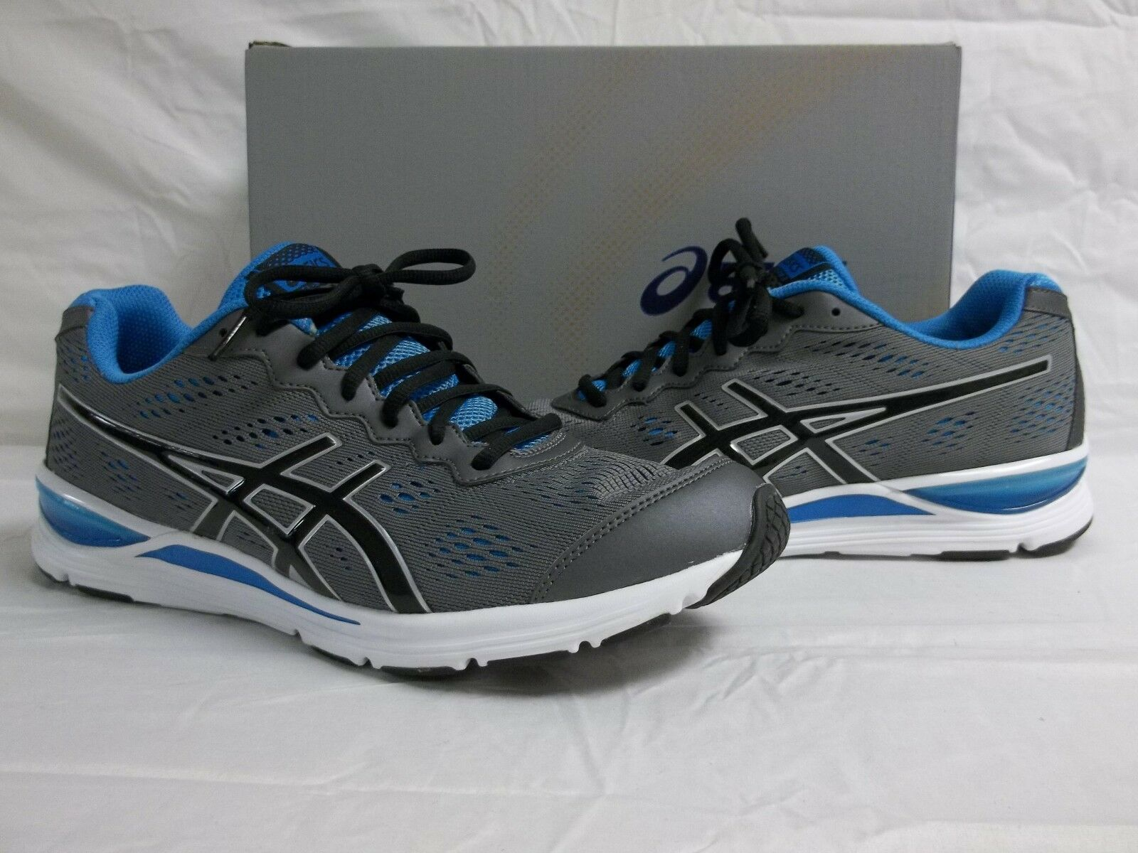 Asics Size 11.5 M GEL GEL GEL STORM 2 Granite Black Athletic Sneakers New Mens shoes 8dca5c