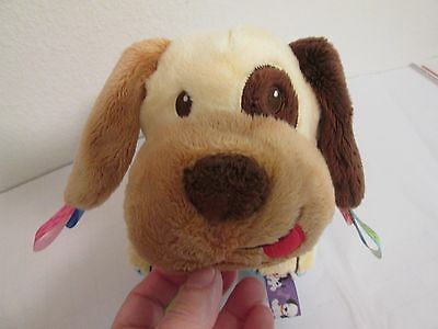 "Taggies Plush Dog Rattle Stuffed 10"" Rattle Taggy Euc Plush Baby Toys Baby"
