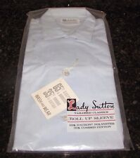 Vintage 1950s 1960s  shirt Lady Sutton blue size 32 new in orig package