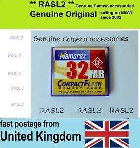 32mb Compact Flash Card Cf Card 32 Mb Cf Memory Card Uk Ebay