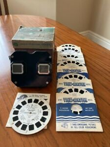 Vintage Sawyer's Viewmaster View Finder Stereo Scope w/ 9 Reels