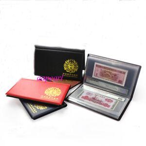 300 pockets Folders Album Holders Banknotes Bills Collections Book Color random