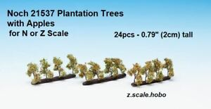 Noch N/Z Scale 21537 Plantation Trees with Fruit Apples Farm *NEW ...