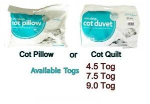 4.5 7.5 et 9 Tog Top qualité anti-allergène pour lit Bébé Couette