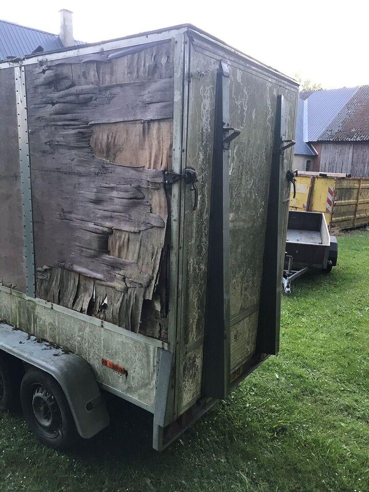 Boogietrailer, lastevne (kg): 700, totalvægt (kg): 700