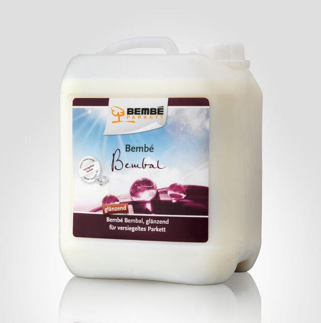 (10.98 EUR Liter) Bembé Bembal Parkettpflege GLÄNZEND für versiegeltes Parkett