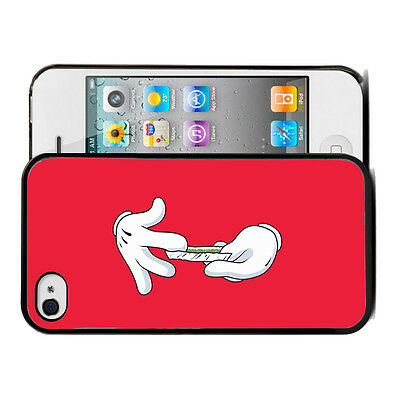 ★★★Coque BUMPER iphone 4/4s & 5s 6-Mickey Mouse Disney Swag Weed Cannabis★