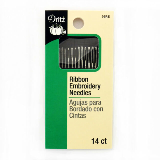 Dritz 14-Piece Ribbon Embroidery Needles