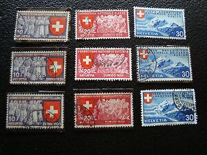 Switzerland-Stamp-Yvert-and-Tellier-N-320-A-328-Obl-A20-Stamp-Switzerland
