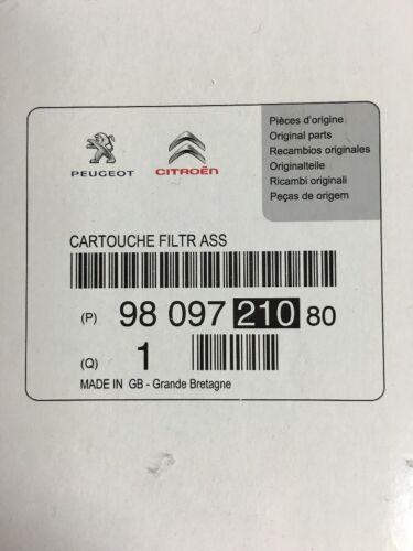 Genuine peugeot citroen filtre carburant ds3 c4 c3 98 097 210 partenaire 1.6hdi
