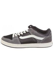 Wall Vans Chaussures Anthracite Noires Ballistique The Baxter Off Gris qTEfg