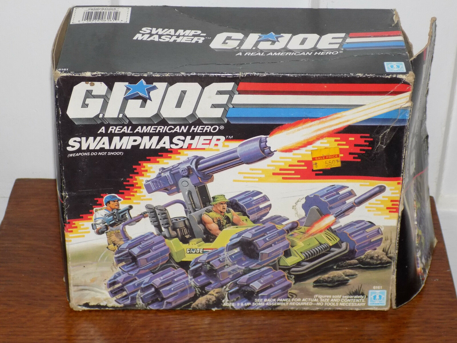 GI Joe Swampmasher with Box 1988