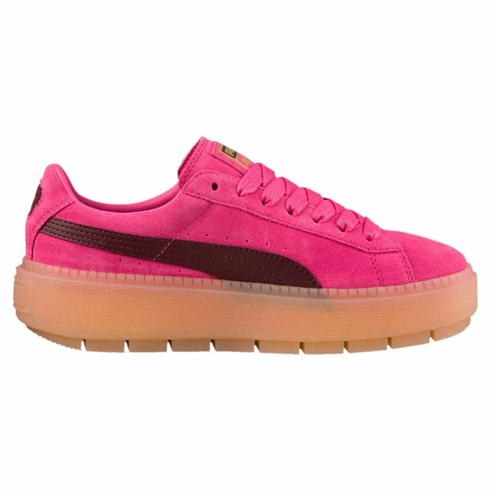 0e5497198345 PUMA Platformtraceblock Women s Casual Trainers Pink 36 for sale ...