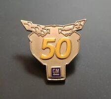 2003 Corvette 50th Anniversary Hat Lapel Pin