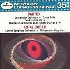 Bela Bartok - Bartók: Concerto for orchestra; Dance Suite (1991)