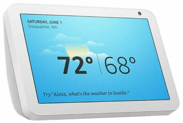 NEW Amazon Echo Show 8 Smart Speaker - Sandstone / White